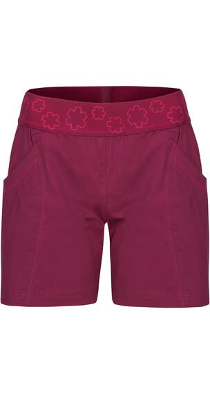 Ocun Pantera korte broek Dames rood